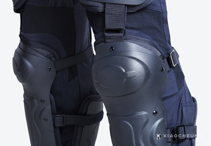 Reliable knee protection